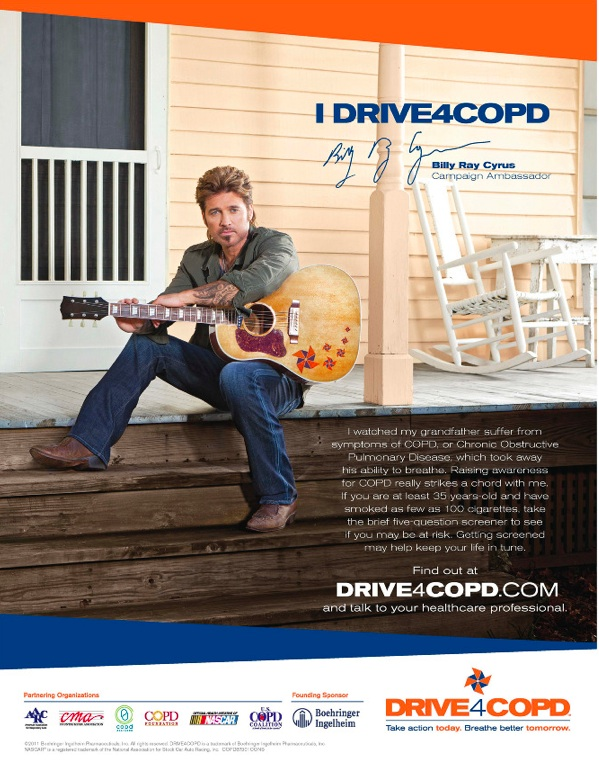 Billy Ray Cyrus COPD Tearsheet